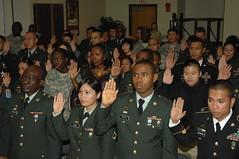 Military Naturalization Ceremony - Yongsan Kor...