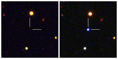 Evolución de la supernova