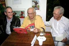 Ciro, Mindlin e Thiago de Mello