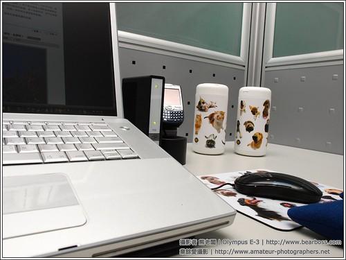 Pets on desk