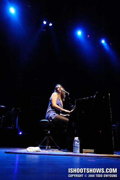 Sara Bareilles @ the Pageant - 2008.10.28