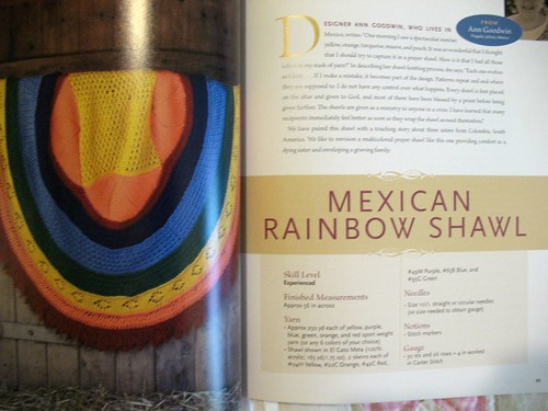 mexican rainbow shawl