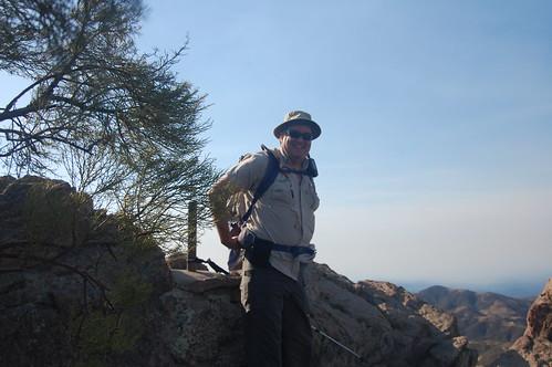 Jeff (albakore) on Sandstone Peak