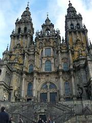 facade of Santiago de Compostella