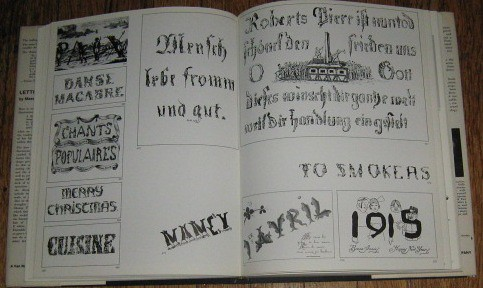 Interior spread from Letter & Image