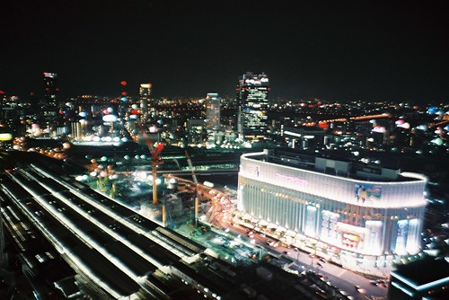 night in Osaka