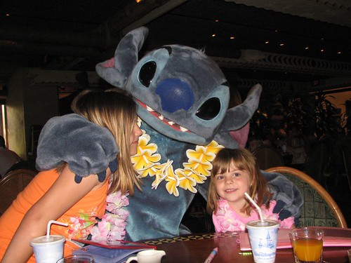 Stitch and the Girls