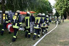 Übung Rettbergsaue Schierstein 26.07.08