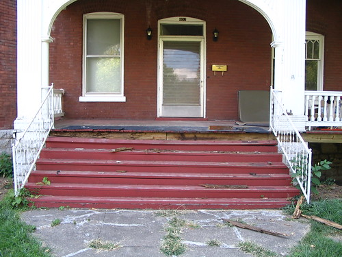 Front porch before