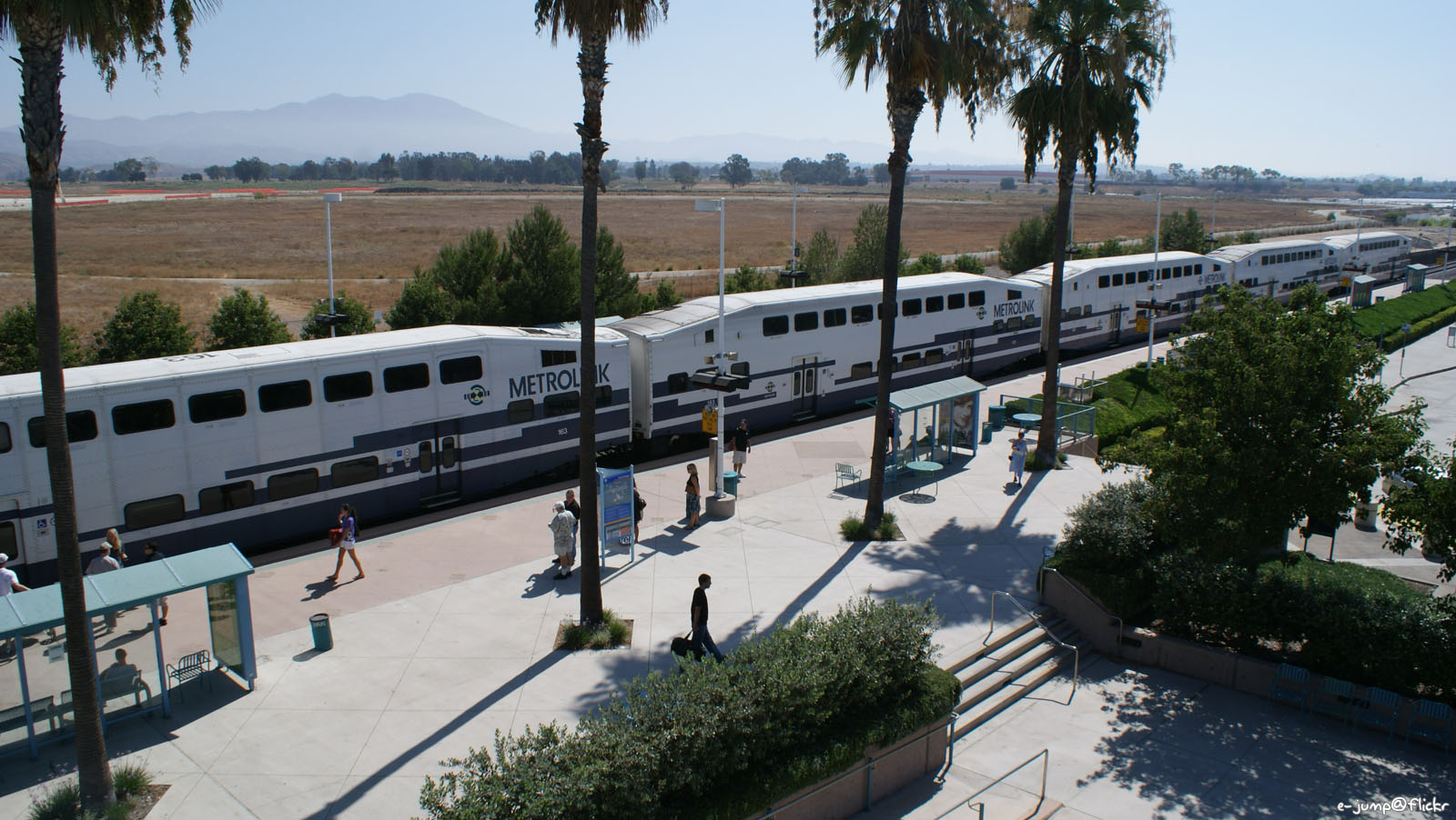 Metrolink heading Oceanside