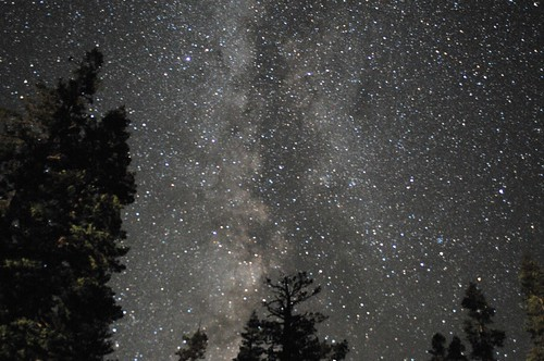 Night Sky near Mt. Lassen