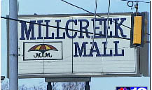 Millcreek Mall: Old Umbrella Sign by hello_gina.