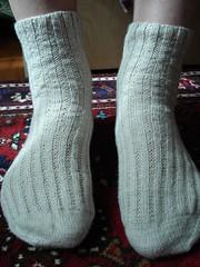 Garter Rib Socks #2