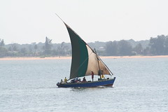 traditional boat in Maputo (by Petr Kosina)