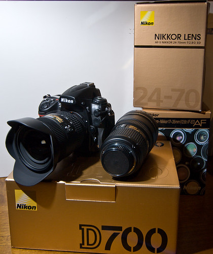 Goodbye D200, Hello D700