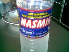 SP Nasi Kandar drinking water