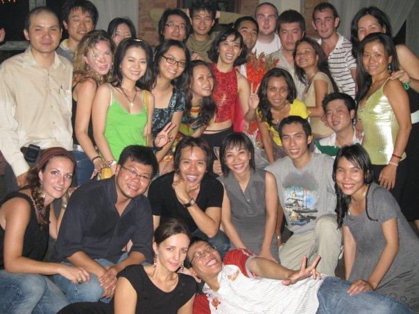 The big Salsa gang @ La Fenetre Soleil