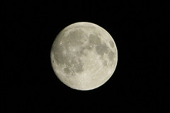 The Moon - Waxing Gibbous 98% of Full