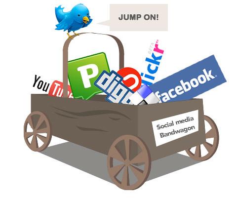 Jump on the social media bandwagon