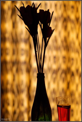 Still Life 4 - Flowers and Candle