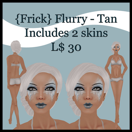 {Frick} flurry - tan ad