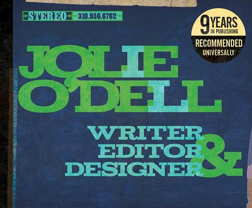 Jolie ODells Design and Copywriting Portfolio