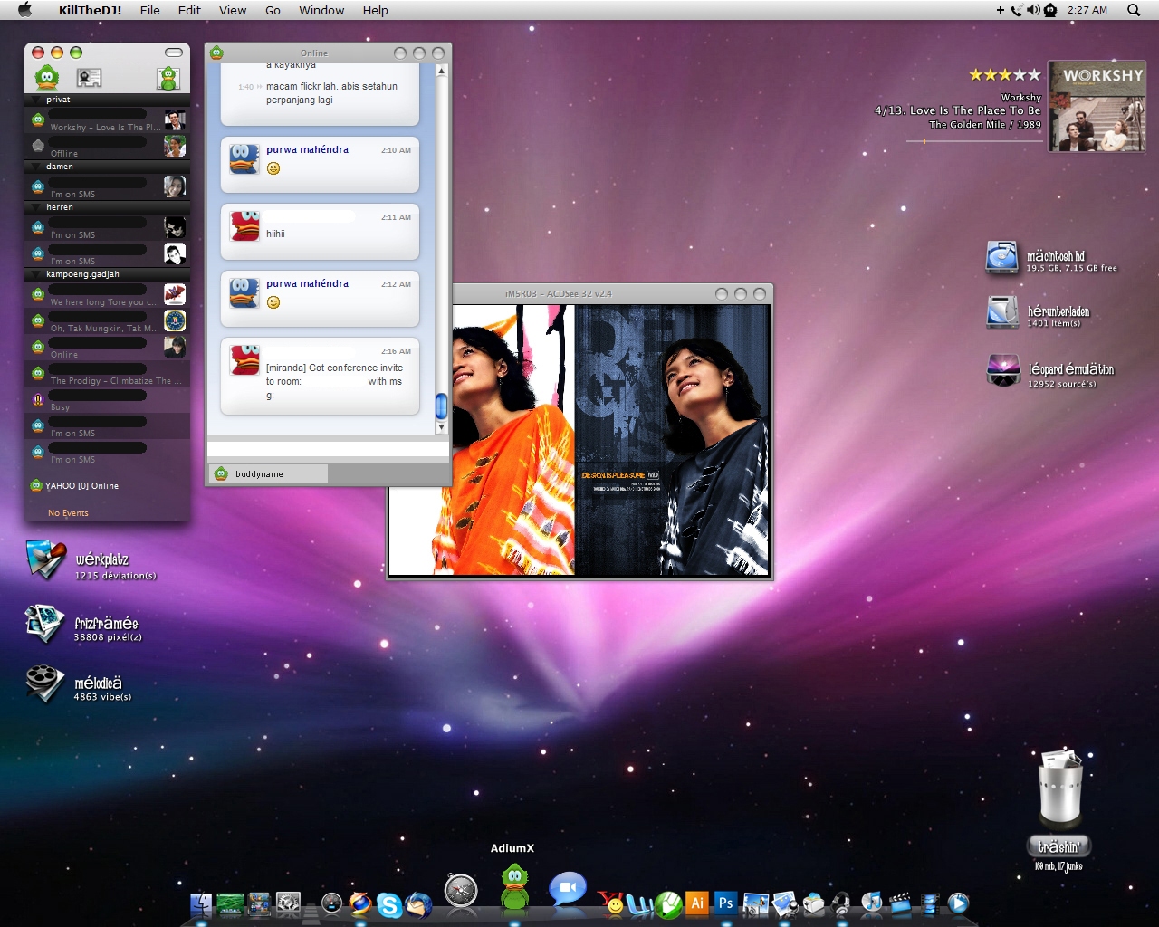 AdiumX Style on XP