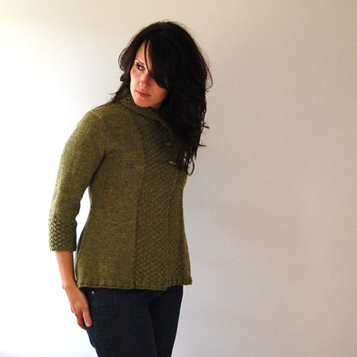 garnstudio asymmetrical sweater