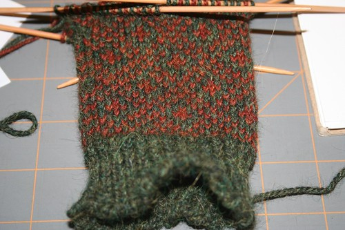 End Paper Mitts