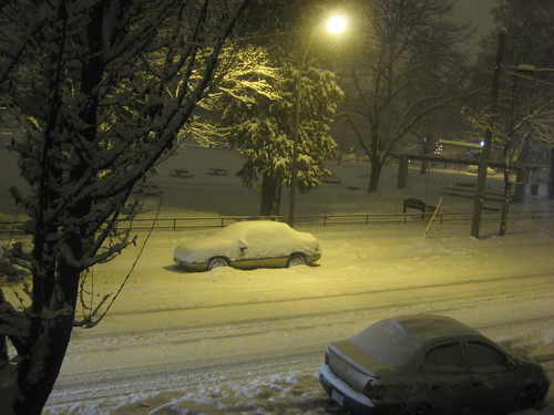 Snow in Vancouver by Mark Busse.