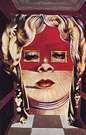 Salvador Dal�. Rostro de Mae West que puede utilizarse como Apartamento surrealista. 1934-1935.