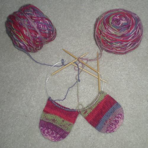 Aine's socks!