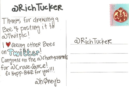 PostCard to @RichTucker