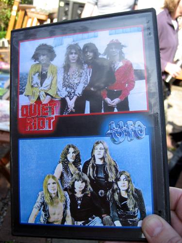 Unwanted yard sale DVD