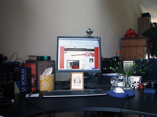 Snapshot of my desk