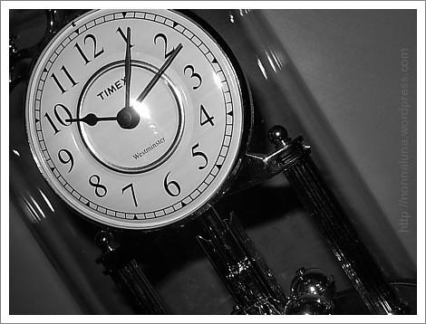anniversary clock face