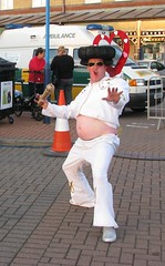 Street Theater at Hartlepool Maritime Festival - Fat Elvis
