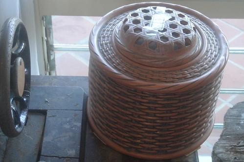 陶製茶葉罐 2