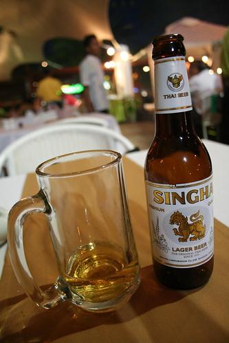 Singha: Thai beer