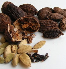 Three types of Cardamom