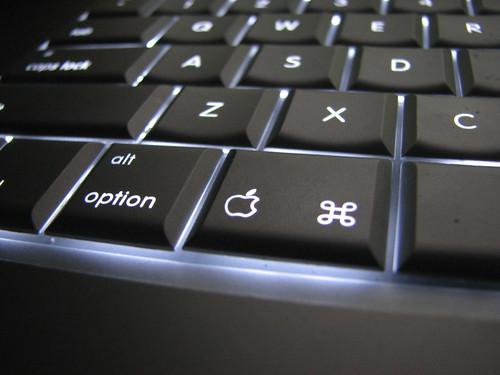 Backlit Macbook Pro Keyboard