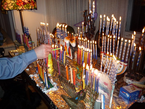 hanukkah at the rabbi's house by you.