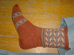 Santa Fe Socks - Sock 1 Complete