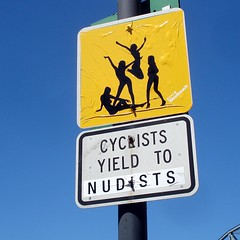 Yield to nudists