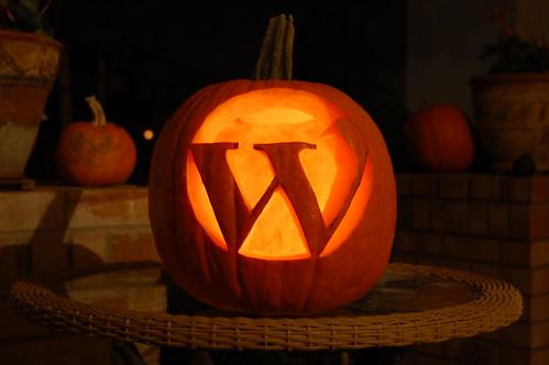 WordPress Pumpkin on Flickr - Photo Sharing!