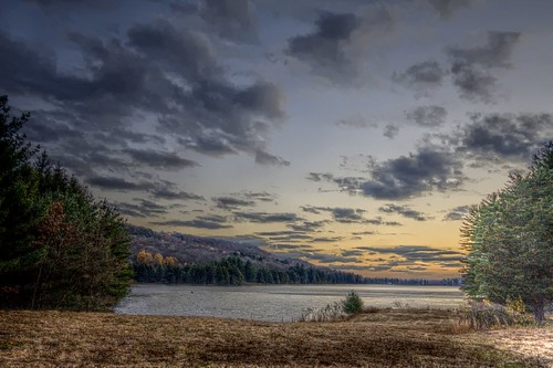 Lake Watrous Sunset