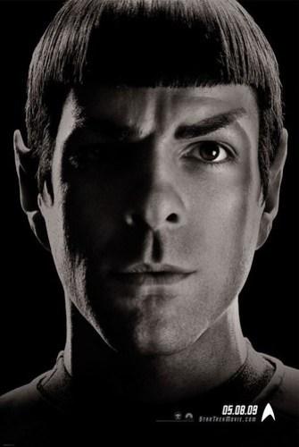Star Trek (2009) Spock B&W