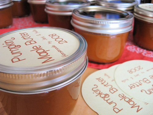 Pumpkin Maple Butter