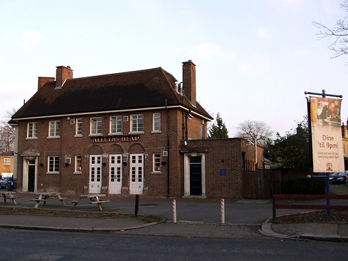 The Alleyn's Head (West Dulwich SE21)