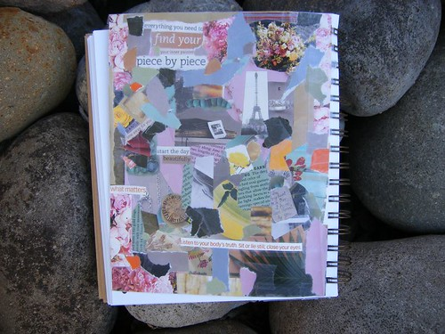 collage journaling